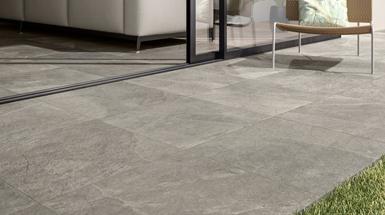 Indoor and outdoor porcelain tiles