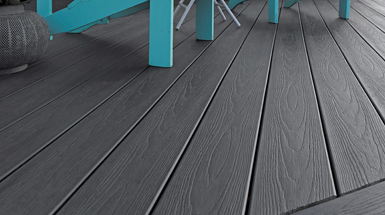 composite decking colours black