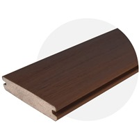 Walnut EasyClean Tropical (4.8m Length) Trim Board