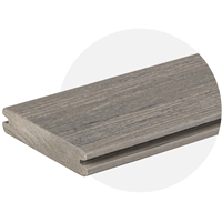 EasyClean Reserve Driftwood Composite Decking (3.6m Length) Trim Board