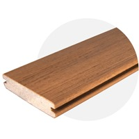EasyClean Tropical Teak Decking (4.8m Length) Trim Board