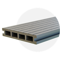 EvoDek Grey Decking (3.6m Length)
