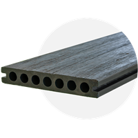 WeatherDek Charcoal Decking (3.6m Length)