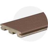 Dark Teak EasyClean Edge (3.0m Length) Trim Board
