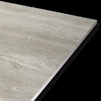 Travertine Grey Tile 10mm