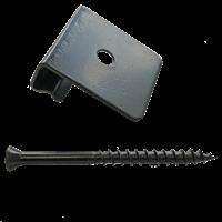 DeckPlus Stainless Steel Starter Clip Black (12pcs)