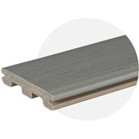 EasyClean Edge+ Sea Salt Grey Composite Decking (3.6m) (3.0m Length) Trim Board