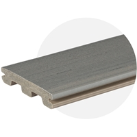 EasyClean Edge+ Sea Salt Grey Composite Decking (3.6m)