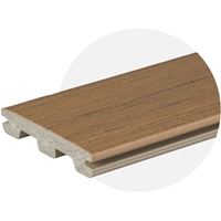 EasyClean Edge+ Oak Composite Decking (3.6m) (3.0m Length) Trim Board