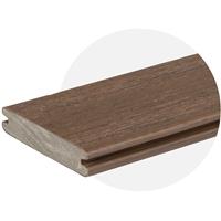 EasyClean Reserve Dark Roast Composite Decking (4.8m Length) Trim Board