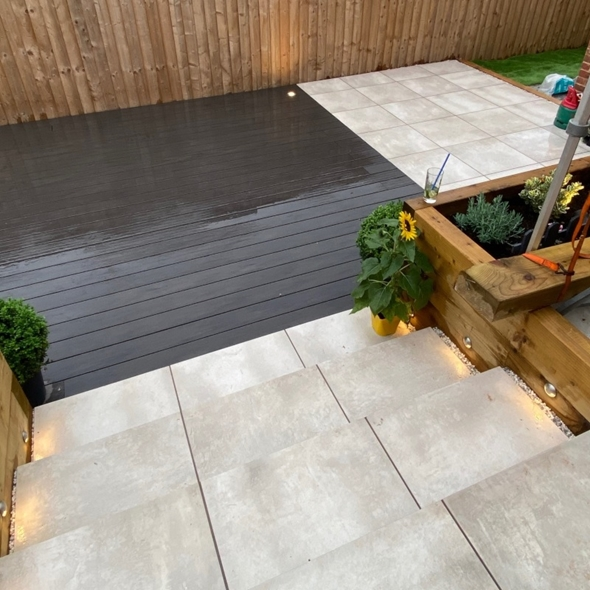 Bolzano White Paving