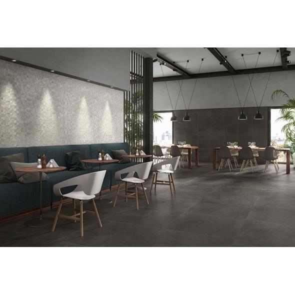 1cm Stoneware Charcoal Tile - 30m2