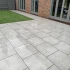 Concrete Silver Paving