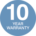 PP 10 Year Warranty