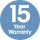 PP 15 Year Warranty