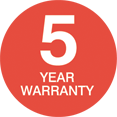 EvoDek 5 Year Warranty