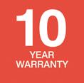 WeatherDek 10 Year Warranty