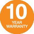 SS 10 Year Warranty